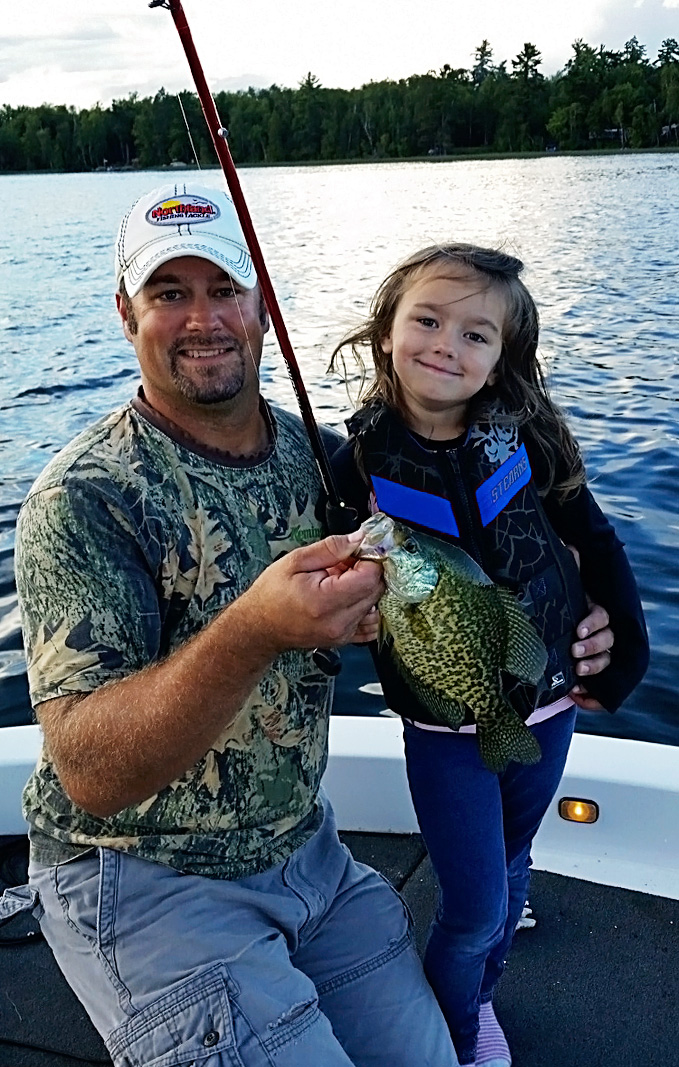 Family memories start with Remington Fishing Guide Randy Erola
